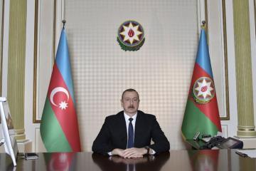 Ильхам Алиев: Они даже хранят в домах своих родственников продукты, отправленные Фондом Гейдара Алиева, чтобы потом продать их