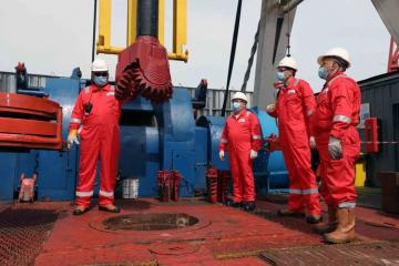 Drilling of a new well launched at 'Umid' field