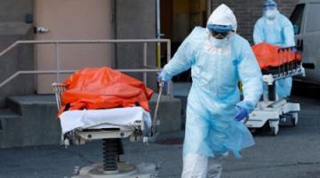 В США число случаев коронавируса за сутки увеличилось на 25 тысяч