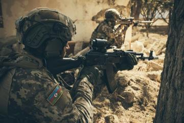 Azerbaijani MoD: Tactical-Special Exercises of Special Forces Units held - [color=red]VIDEO[/color]