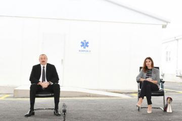 Президент Азербайджана: Тот, кто зарится на имущество, продовольственный паек бедных, - предатель