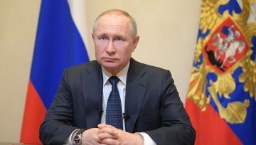 Путин поздравил президента Азербайджана и азербайджанский народ по случаю 75-й годовщины Победы