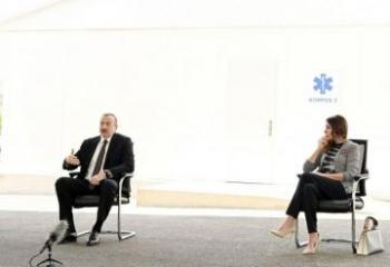 Президент Ильхам Алиев: Первостепенный вопрос – это здоровье граждан