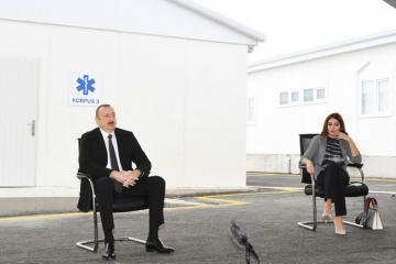 Ильхам Алиев: После изготовления вакцины можно сказать, что да, мы можем уберечь себя от этого вируса