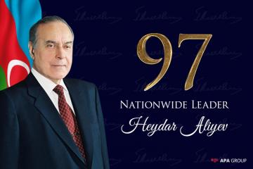 Azerbaijan marks 97th birthday anniversary of National Leader Heydar Aliyev