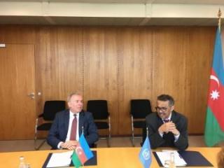 Donorship Agreement signed between Azerbaijan and World Health Organization