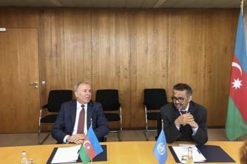 Между Азербайджаном и ВОЗ подписано донорское Соглашение