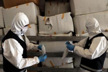 Türkiyədən Avropaya qaçaq yolla yüz minlərlə tibbi maska aparanlar saxlanılıb - [color=red]FOTO[/color]