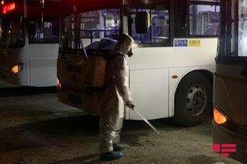 Bəzi marşrut avtobusları yenidən dezinfeksiya edilib, sürücülər üçün arakəsmə yaradılıb - [color=red]FOTO[/color] - [color=red]VİDEO[/color]