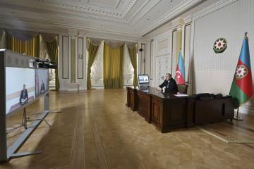 Prezident İlham Əliyev Kəlbəcərin yeni icra başçısını videoformatda qəbul edib