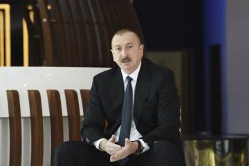 Президент Ильхам Алиев: Мы передали в распоряжение больных коронавирусом наши самые современные больницы