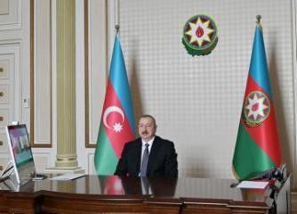 President Ilham Aliyev, Moldovan President Igor Dodon met through videoconferencing