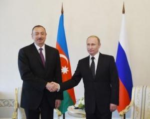 Владимир Путин позвонил президенту Ильхаму Алиеву