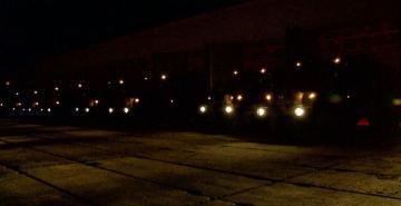 Təlimlərdə qoşunların gecə vaxtı yerdəyişməsi keçirilib  - [color=red]VİDEO[/color]