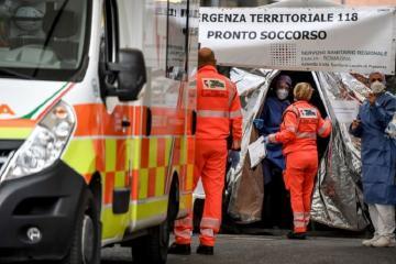 Число смертей из-за коронавируса за сутки в Италии впервые за 2 месяца опустилось ниже 100