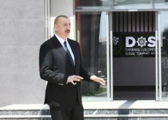 Президент Азербайджана: Планируется, что начнут действовать около 30 центров DOST