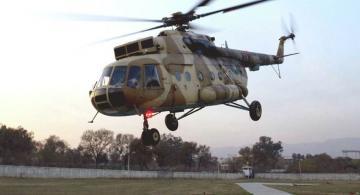 При крушении военного вертолета в России погибли три человека