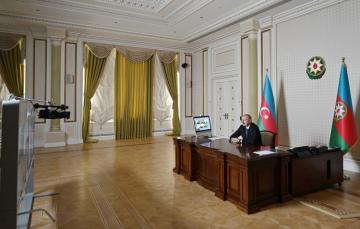 Президент Ильхам Алиев провел видеоконференцию с руководителями компании «Signify»