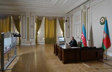 Ильхам Алиев: Механизм, применяемый в Азербайджане в связи с пандемией, заслуживает самой высокой оценки