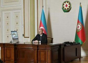Initiated by Signify, videoconference between President Ilham Aliyev and company's senior executives held