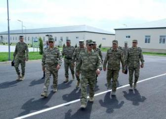 Azerbaijani MoD: New military units opened in the frontline zone