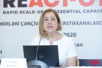 "Hande Harmanci: ""We have long way to go in battle against pandemic"""