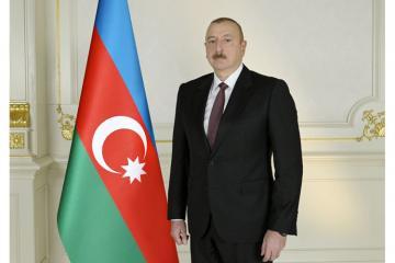 Azərbaycan Prezidenti İordaniya Kralını milli bayram münasibətilə təbrik edib