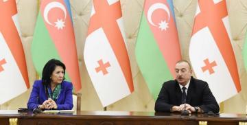 Президент Ильхам Алиев поздравил Саломе Зурабишвили