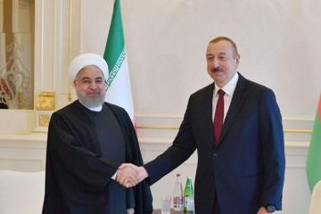 Iranian President congratulates Ilham Aliyev on the occasion of Republic Day