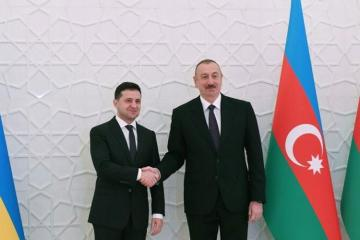 Volodymyr Zelensky sends a congratulatory letter to Azerbaijani President