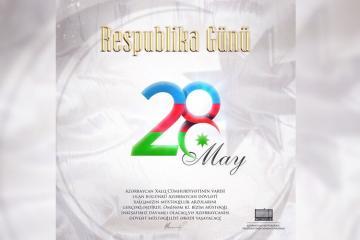 Президент Ильхам Алиев поделился публикацией по случаю 28 Мая