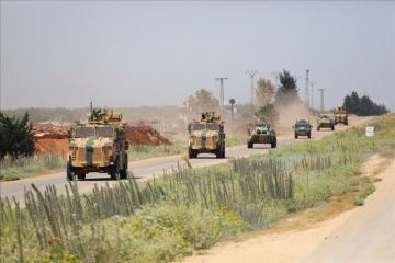 Turkey, Russia conduct 13th joint patrol in Idlib, Syria