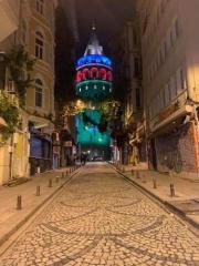 İstanbulun 3 körpüsü Azərbaycan Bayrağının rənglərinə uyğun işıqlandırılıb  - [color=red]FOTO[/color]