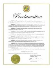 U.S. Cities of Las Vegas, Honolulu, San Diego and Monterey proclaim May 28 as 'Azerbaijan National Day'