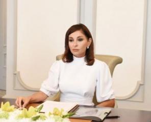 Mehriban Aliyeva congratulates Azerbaijani people on Republic Day