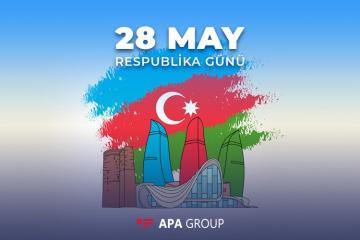 Azərbaycan Xalq Cümhuriyyətinin 102 yaşı qeyd olunur