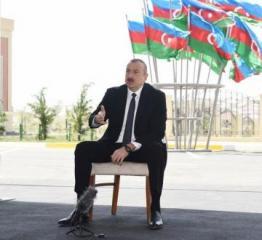 Президент: Народный фронт Азербайджана совершил предательство, чтобы прийти к власти