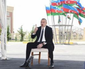 Президент Ильхам Алиев: Решение нагорно-карабахской проблемы – это исторический вопрос, и мы должны решить его окончательно и полностью