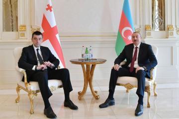 Azərbaycan Prezidenti Gürcüstanın Baş Nazirinə zəng edib
