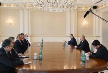 Ильхам Алиев принял министра иностранных дел Турции  - [color=red]ОБНОВЛЕНО[/color]