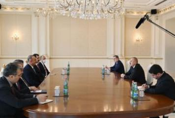 President Ilham Aliyev received Turkey's minister of Foreign Affairs