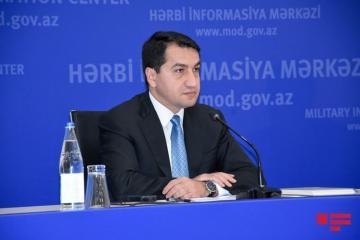 Хикмет Гаджиев: Армения имеет  большой опыт  применения фосфорных боеприпасов