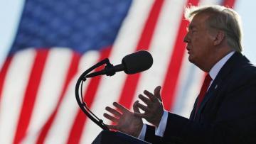 Трамп потребовал остановить подсчет голосов в Джорджии