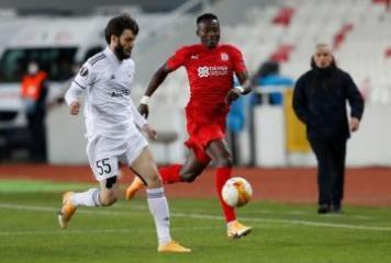 «Карабах» уступил «Сивасспору» в матче Лиги Европы