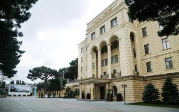MN: Ermənistan dövlət sərhədində atəşkəs rejimini pozub