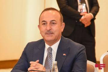 """Çavuşoğlu: """"Strong Azerbaijani Army took back from Armenia one by one its occupied lands"""""""