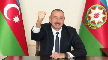 """Prezident İlham Əliyev: """"Bu bəyanatda Dağlıq Qarabağın statusu haqqında bir kəlmə də yoxdur"""""""