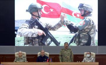 Azərbaycan və Türkiyə Müdafiə nazirlərinin görüşü keçirilib