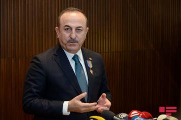 "Cavusoglu: ""Despite missiles shelling, Azerbaijani people showed strong resistance"""