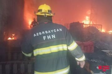 В результате пожара в Лянкяране погибли двое детей